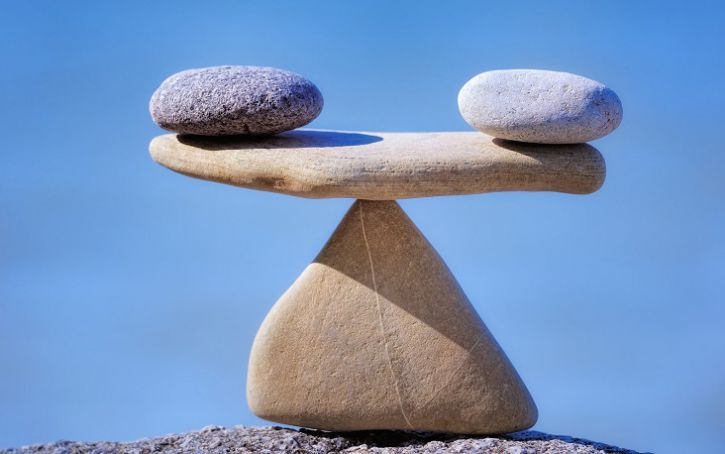 Simple everyday actions for mental balance