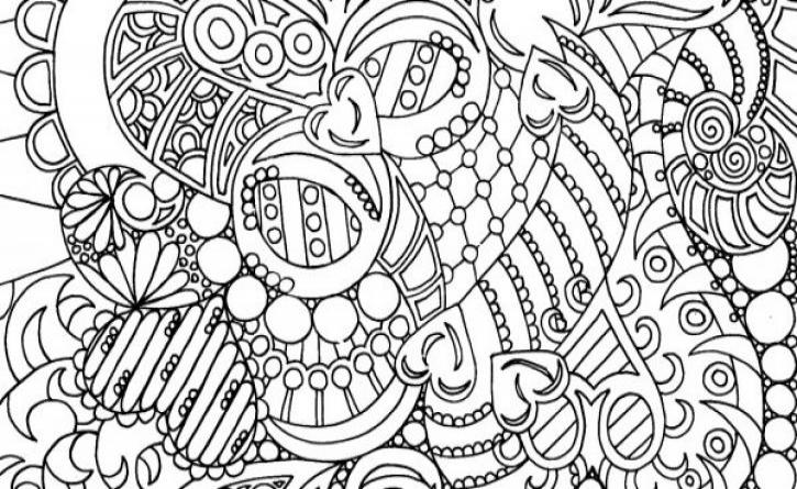 Adult coloring books help with stress!