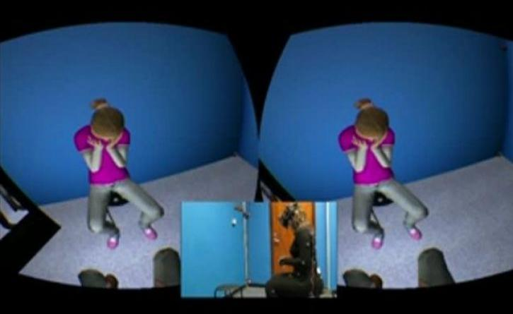 Virtual Reality helps people accept themselves